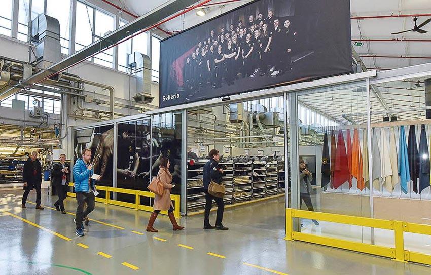 nhà máy sản xuất siêu SUV Lamborghini URUS 5