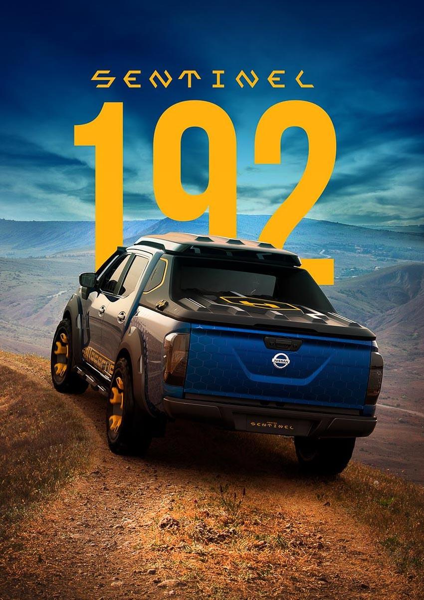 Nissan Navara Sentinel 14