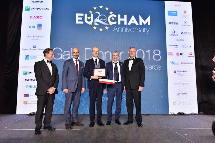EuroCham vinh danh Piaggio Việt Nam là doanh nghiệp xuất sắc năm 2018 1