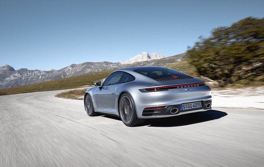 Ngoại thất Porsche 911 thế hệ mới 9