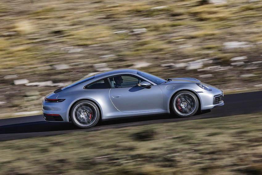 Ngoại thất Porsche 911 thế hệ mới 10
