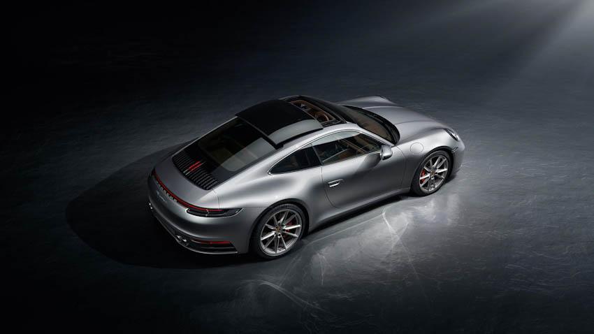 Ngoại thất Porsche 911 thế hệ mới 11