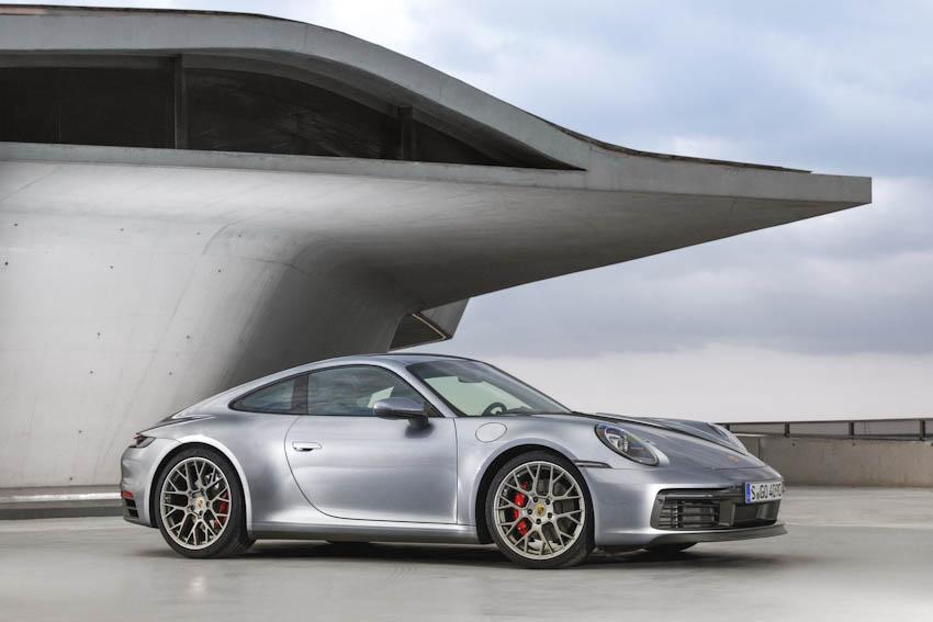 Ngoại thất Porsche 911 thế hệ mới 3