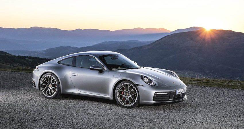 Ngoại thất Porsche 911 thế hệ mới 4