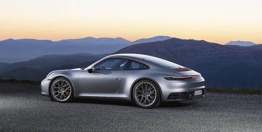 Ngoại thất Porsche 911 thế hệ mới 5