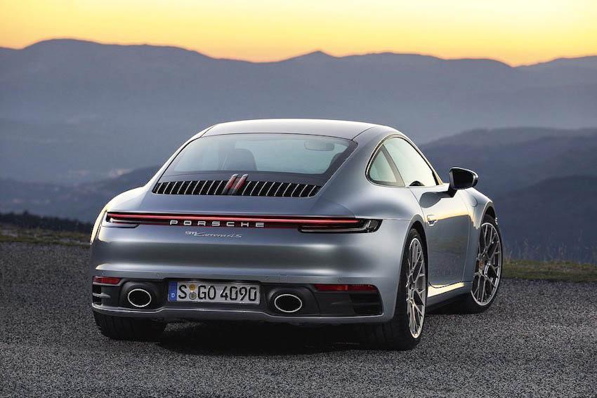 Ngoại thất Porsche 911 thế hệ mới 6