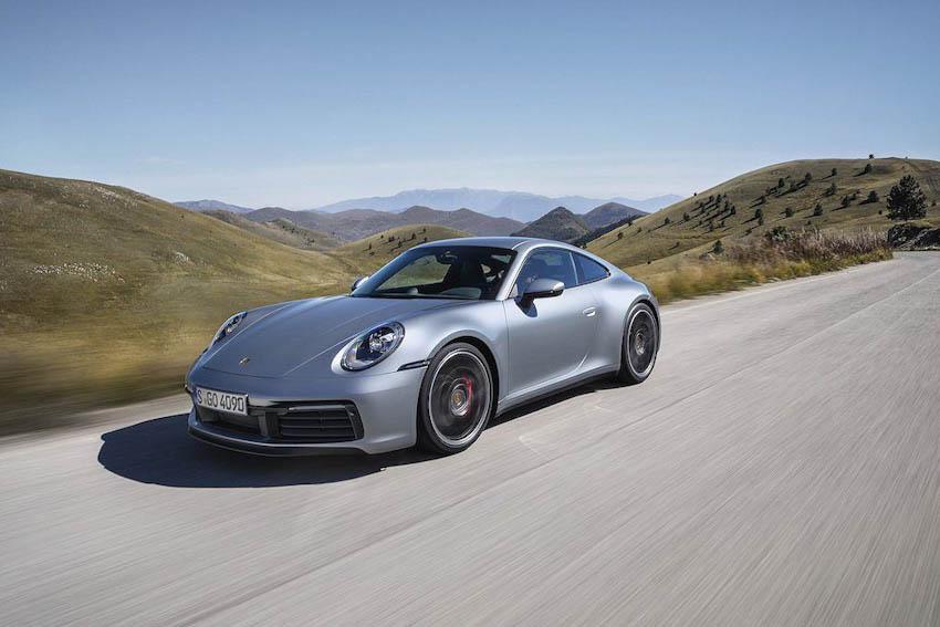 Ngoại thất Porsche 911 thế hệ mới 7