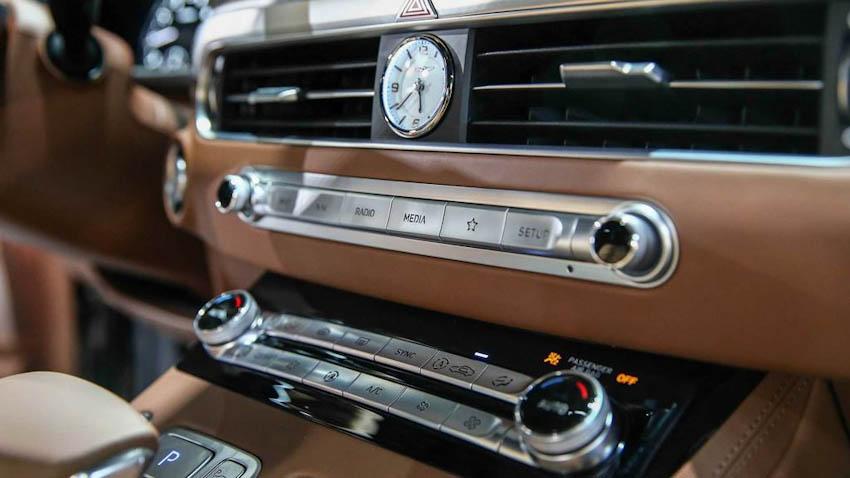 Nội thất xe Genesis G90 2020 3