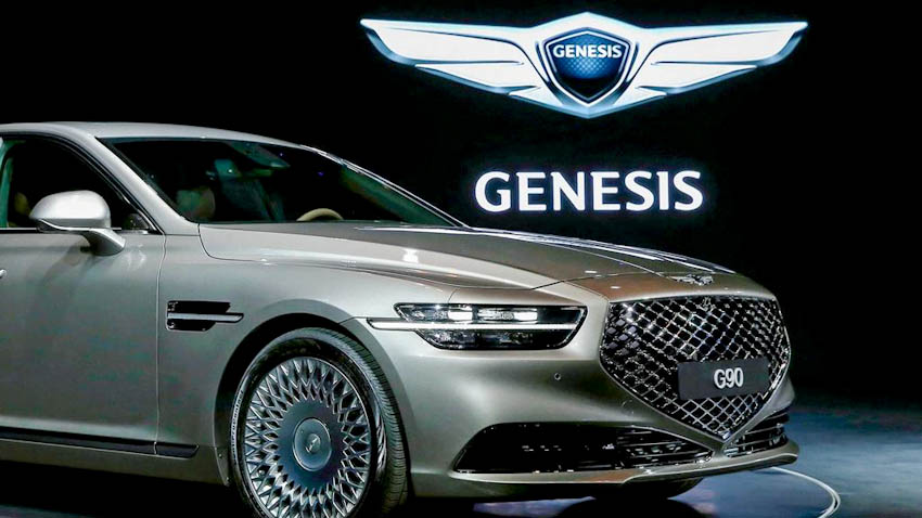 Đầu xe Genesis G90 2020 1