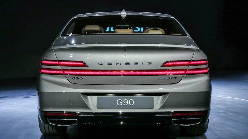 Đuôi xe Genesis G90 2020 1