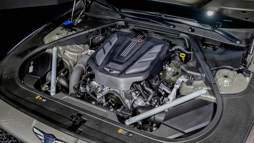 Động cơ xe Genesis G90 2020