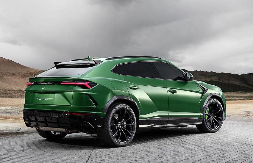 Siêu SUV Lamborghini Urus độ 3