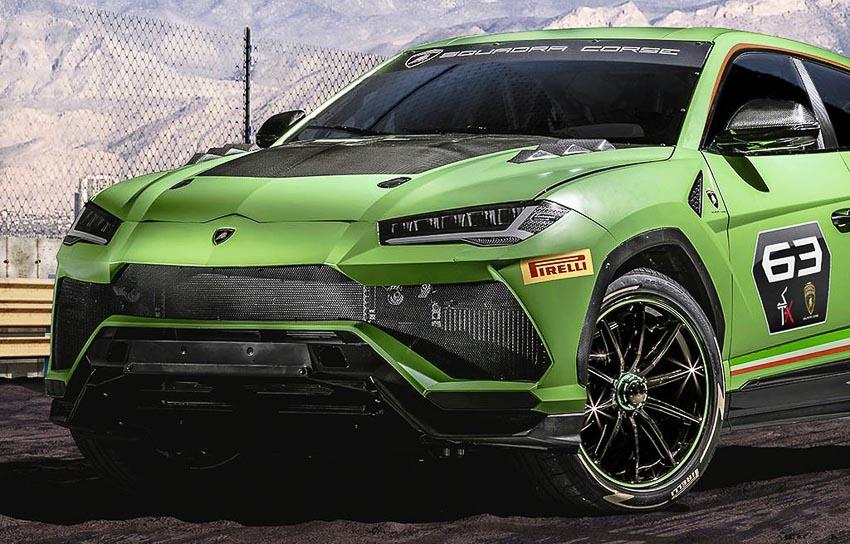 Đầu xe Lamborghini Urus ST-X Concept