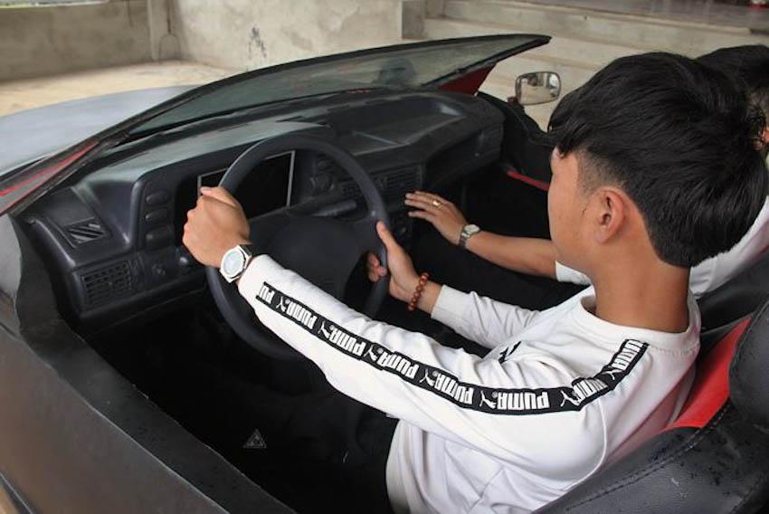 siêu xe mui trần tự chế từ đồng nát 11