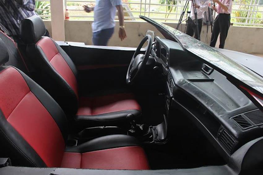 siêu xe mui trần tự chế từ đồng nát 12