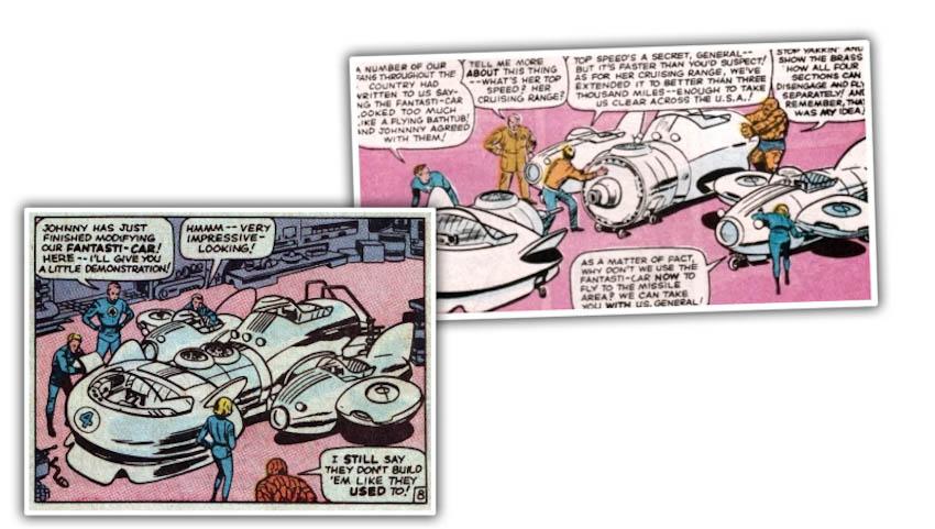 Những mẫu xe siêu anh hùng 5