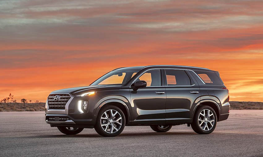 Ngoại thất Hyundai Palisade 2020 1