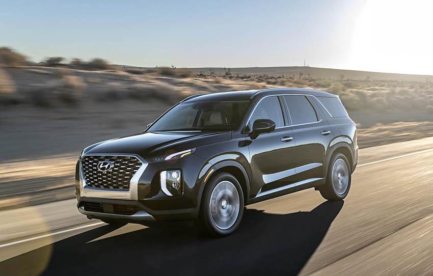 Ngoại thất Hyundai Palisade 2020 8