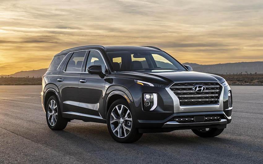 Ngoại thất Hyundai Palisade 2020 3
