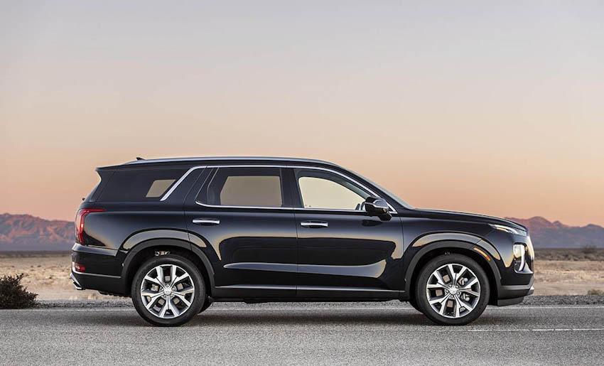 Ngoại thất Hyundai Palisade 2020 5