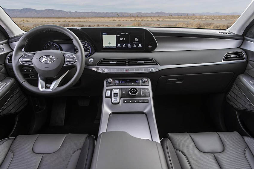 Nội thất Hyundai Palisade 2020 4