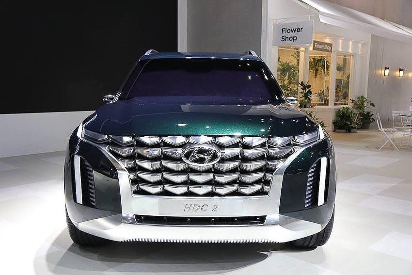 SUV 8 chỗ Hyundai PALISADE 2