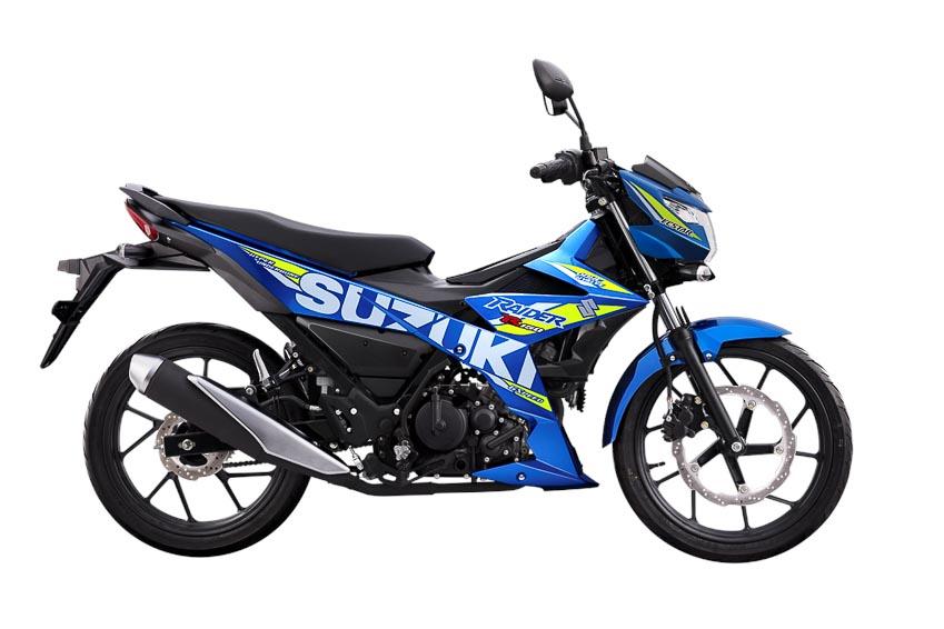 Suzuki Raider R150 màu Xanh-đen