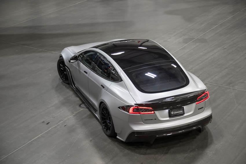 Tesla Model S-APEX P100D 1
