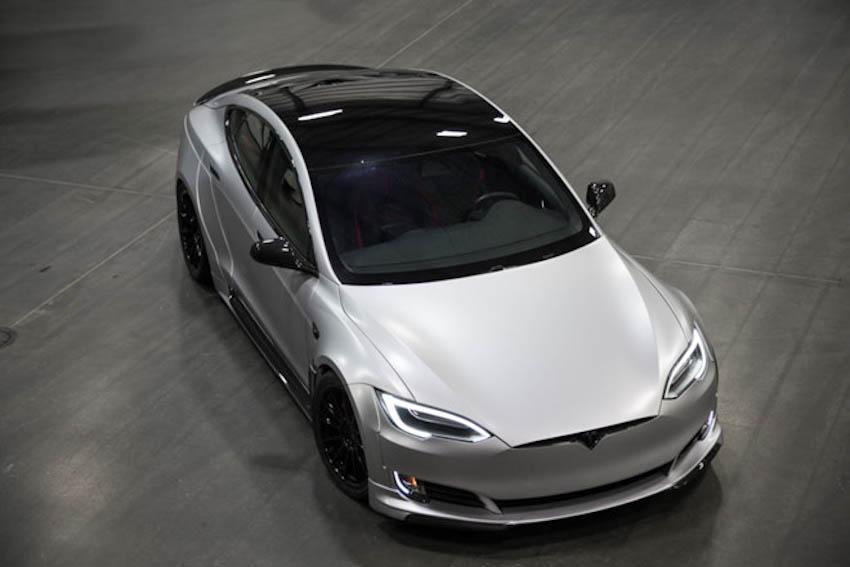 Tesla Model S-APEX P100D 9
