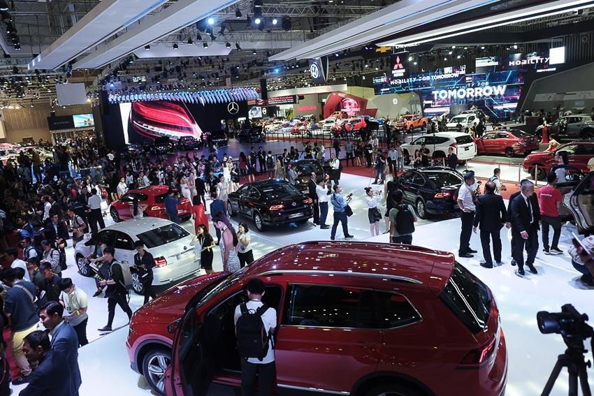 Thị trường ôtô cuối năm 1