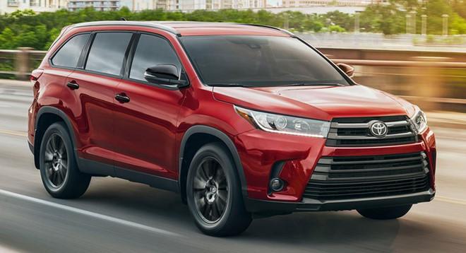 Toyota Highlander Nightshade Special Edition 2019
