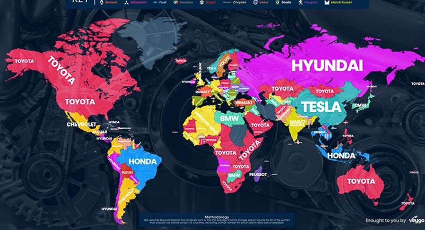 Thương hiệu xe toàn cầu