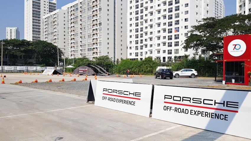 Trải nghiệm lái địa hình với Porsche Cayenne