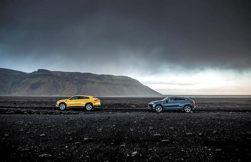Lamborghini URUS chinh phục Quốc đảo Iceland