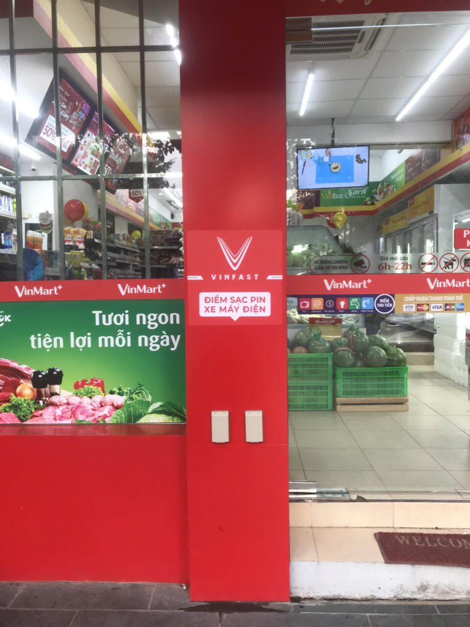 trạm sạc miễn phí cho VinFast Klara