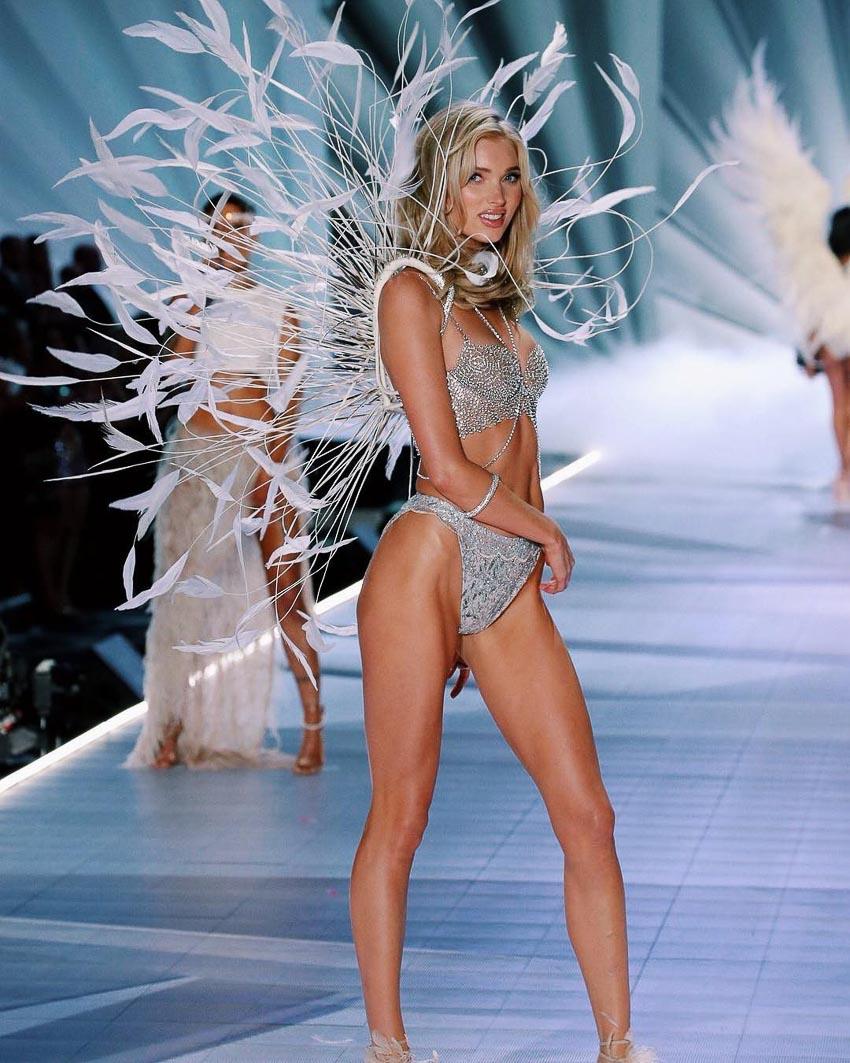 Thiên thần Elsa Hosk trình diễn Fantasy Bra triệu đô mang tên Dream Angels bao gồm 2.100 viên kim cương 2