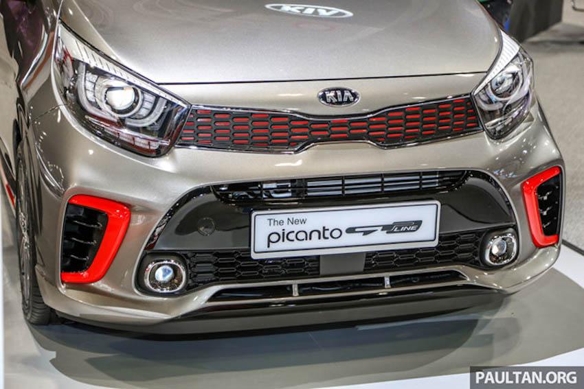 Ngoại thất Kia Picanto GT-Line 2019 2