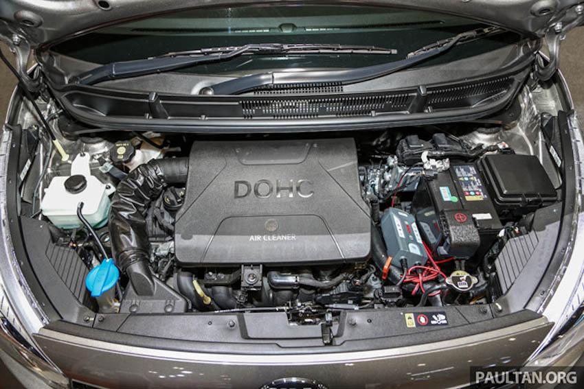 Động cơ xe Kia Picanto GT-Line 2019