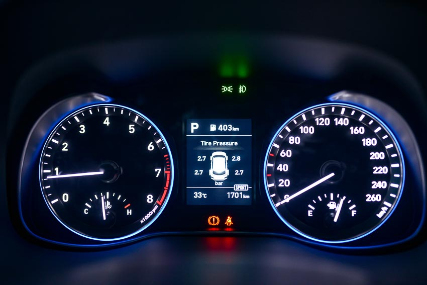 Nội thất Hyundai Kona 3