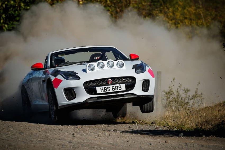 Jaguar F-TYPE Rally 2