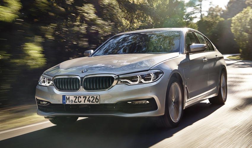 BMW 530e 2018 11