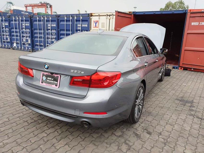 BMW 530e 2018 8