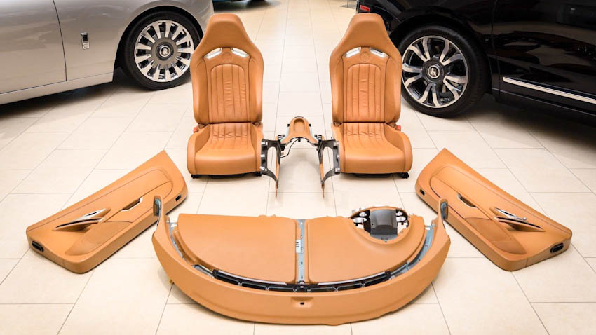 Bộ nội thất Bugatti Veyron 1