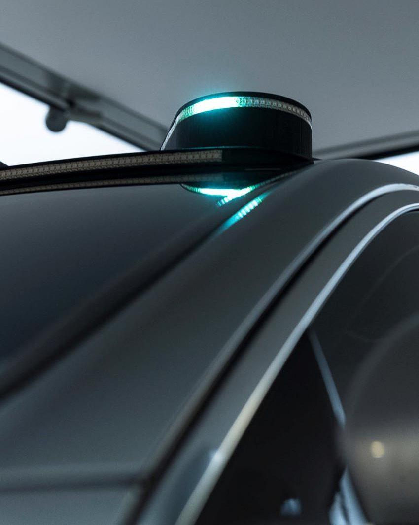 Mercedes-Benz phát triển đèn thông minh Cooperative Car cho xe tự lái 4