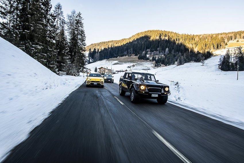 siêu SUV Lamborghini 3
