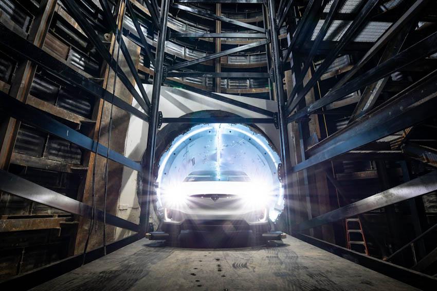 Đường hầm dưới lòng đất đầu tiên của Elon Musk đi vào giai đoạn thử nghiệm 1