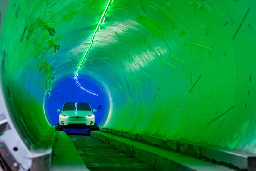 Đường hầm dưới lòng đất đầu tiên của Elon Musk đi vào giai đoạn thử nghiệm 4