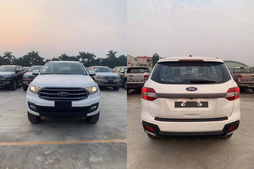 Ford Everest bản tiêu chuẩn về Việt Nam