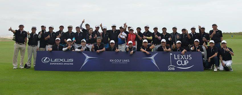 giải golf Lexus Cup 2018 9