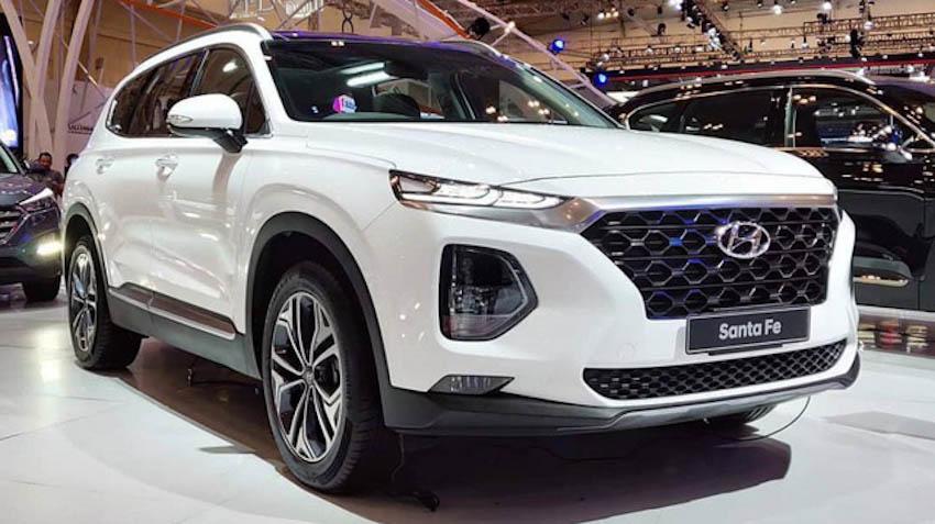 Kết quả hình ảnh cho Hyundai SantaFe